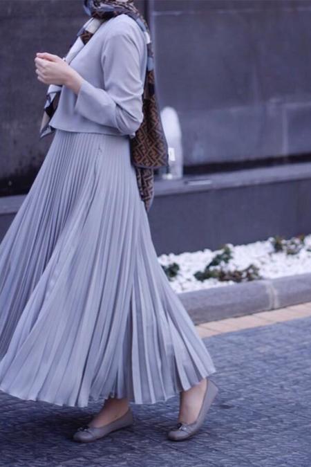 Atölye Mimra Pliseli Elbise