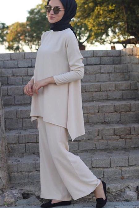 Kadriye Baştürk Taş Mira Pantolon Tunik Takım