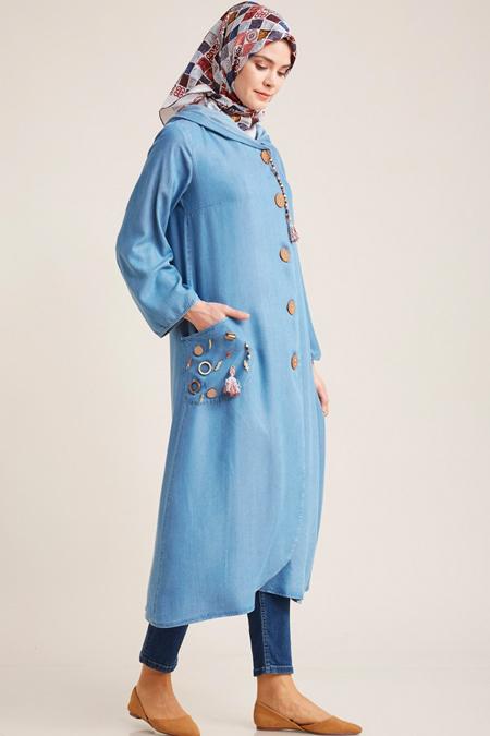 Kayra Mavi Tensel Giy Çık