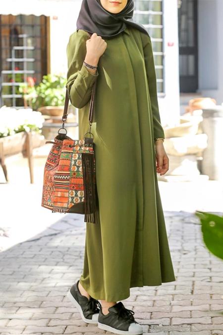 Kevsersarioglu Yeşil Elbise