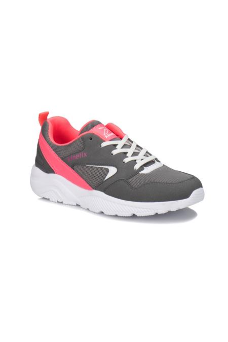 Kinetix Gri Neon Pembe Kadın Sneaker