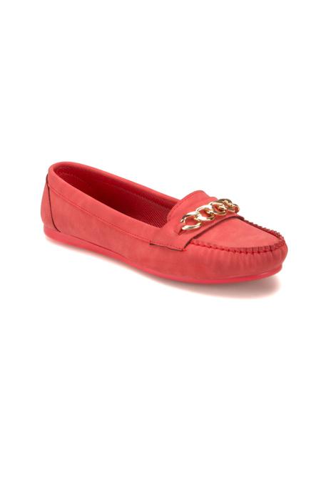 Miss F Kırmızı Kadın Loafer