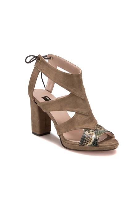 Miss F Yeşil Kadın Ayakkabı