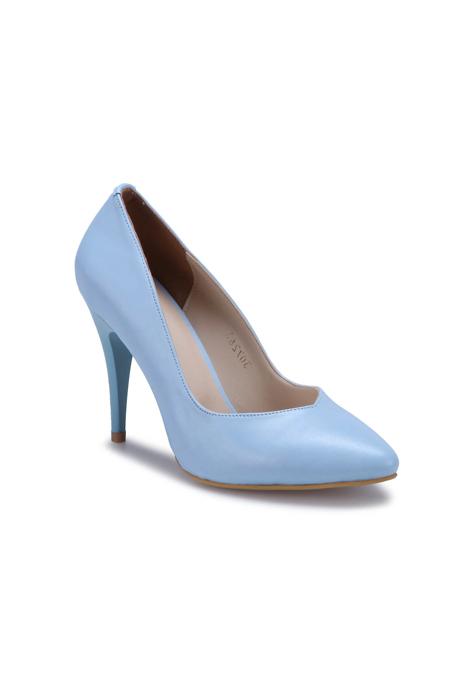 Polaris Açık Mavi Kadın Gova Ayakkabı