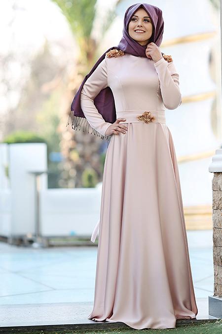 Puqqa Somon Madam Abiye Elbise