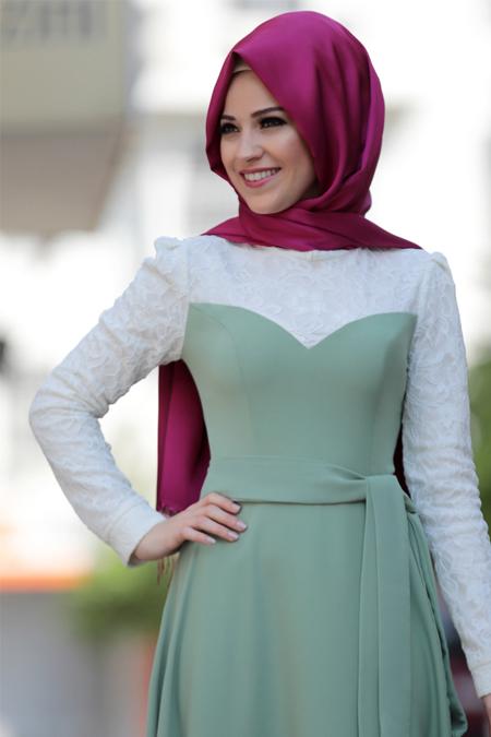 Al-Marah Çağla Yağmur Elbise