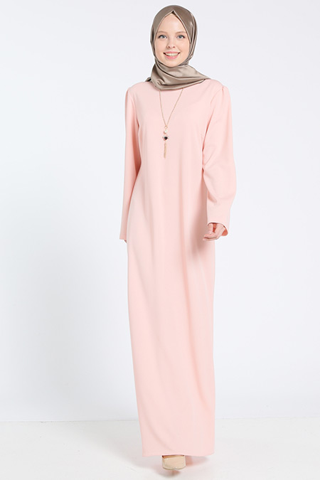 Bislife Pudra Kolyeli Elbise