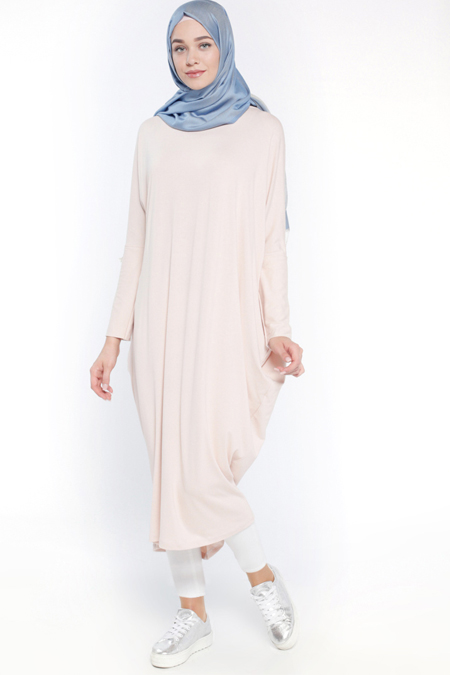Everyday Basic Ten Salaş Tunik