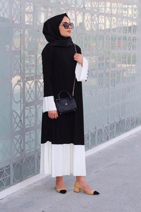 MOORA CONCEPT Pliseli Elbise