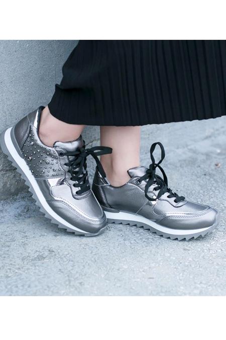 Marcatelli Gümüş Gri Spor Ayakkabı