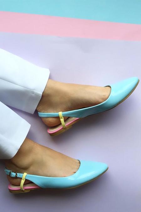 Mostra Shoes Mavi Babet