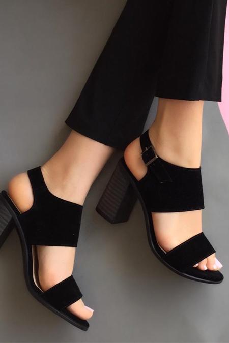 Mostra Shoes Siyah Ayakkabı