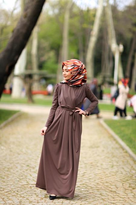Verza Kruvaze Sandy Elbise