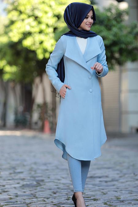 Al-Marah Mavi Klas Ceket