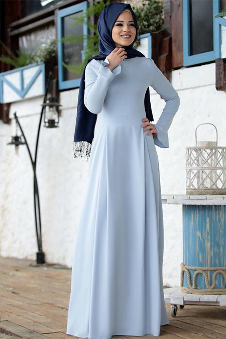 Al-Marah Mavi Lara Elbise