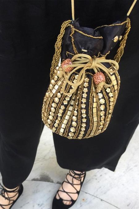 Esrmesr Özel Tasarım İşlemeli Çanta