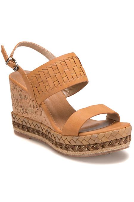 Flo Miss F Kahverengi Kadın Basic Sandalet