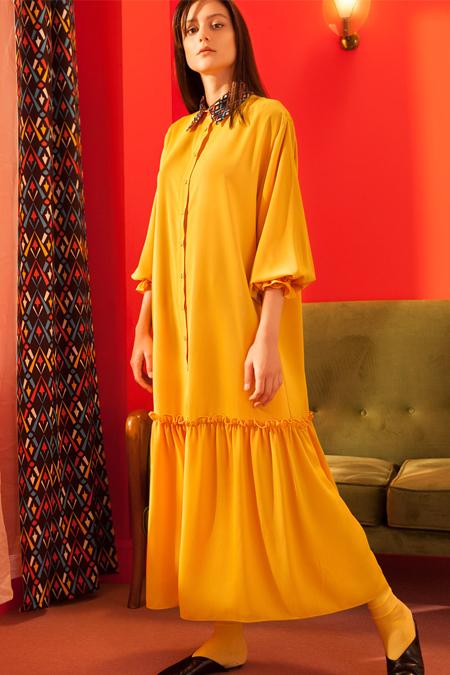 Kuaybe Gider Hardal Giorno Elbise