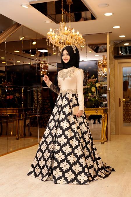 Pınar Şems Siyah Mihrimah Abiye