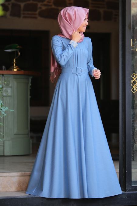 An Nahar Bebe Mavi Bahar Elbise