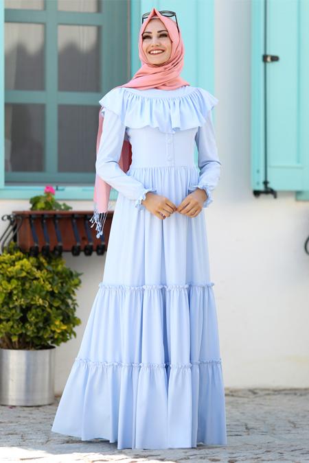An Nahar Bebe Mavi Hilal Elbise
