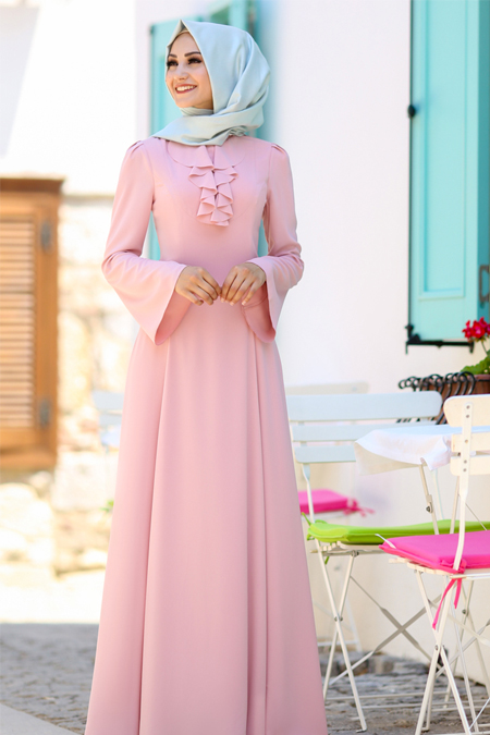 An Nahar Pudra Ezgi Elbise