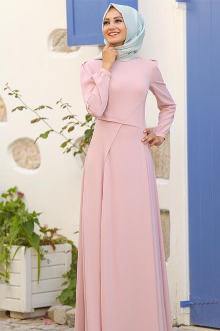 An Nahar Pudra Yıldız Elbise