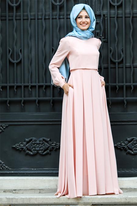 An Nahar Somon Gülce Elbise