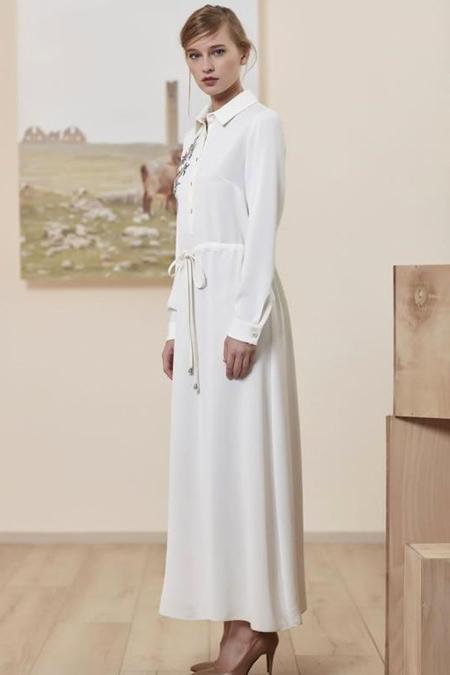 Asiyan Nakışlı Elbise