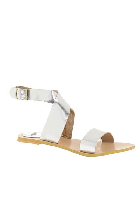 Beymen Gümüş Sandalet