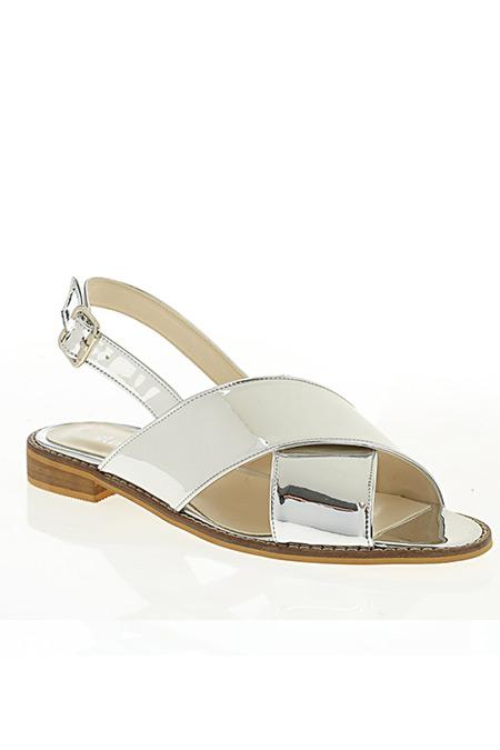 D by Divarese Gümüş Sandalet