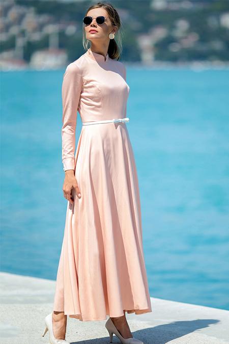 Zehrace Somon Vefa Elbise