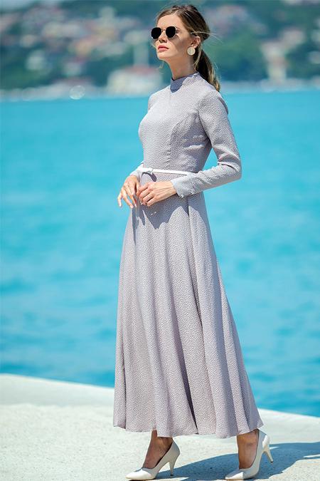 Zehrace Vizon Petek Elbise
