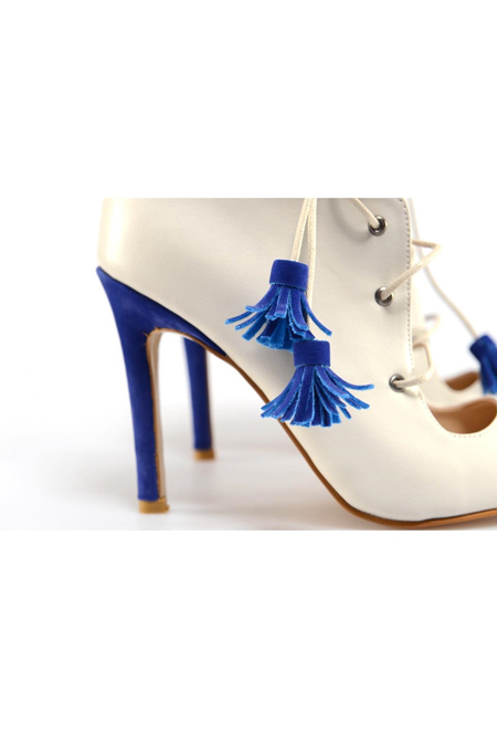 Lolas Heels Royal Blue Stiletto