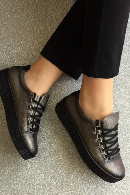 Mostra Shoes Gri Babet
