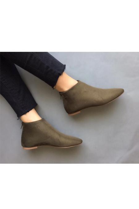 Mostra Shoes Yeşil Günlük Ayakkabı