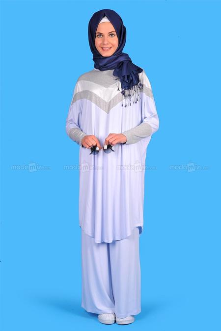 Basic Love Mavi Elbise