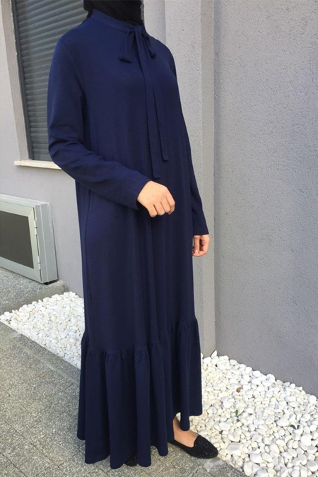 QoropaOfficial Triko Elbise