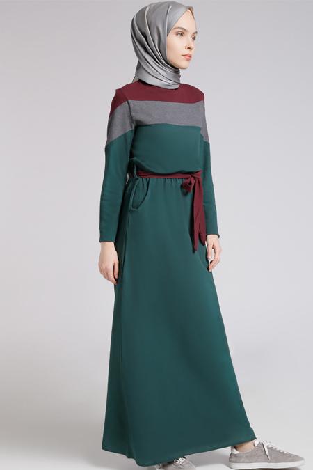 b17649966d9b5 Benin Zümrüt Doğal Kumaşlı Spor Elbise Online Satış, İndirimli Satın Al