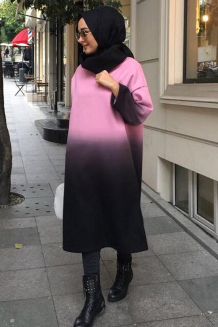 Merve Şerbetçi Kaşe Tunik