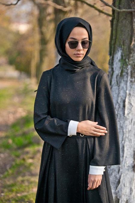 Lavinia Couture Yünlü Maxi Elbise