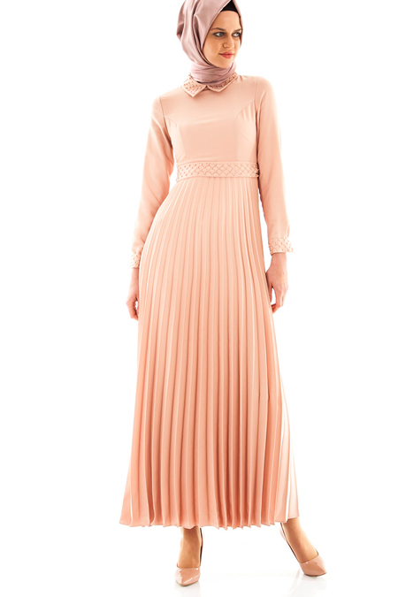 Armine Somon Pilise Detaylı Elbise