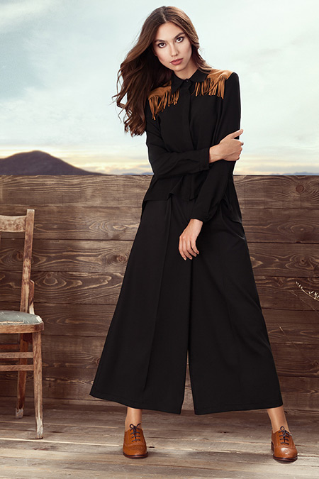Kuaybe Gider Siyah Big Bend Gömlek