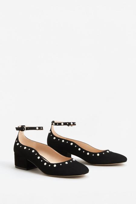 Mango Siyah Ayakkabı
