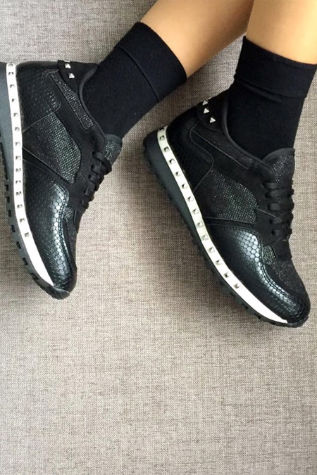 Mostra Shoes Siyah Spor Ayakkabı