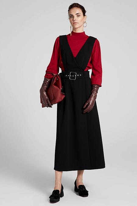 İpekyol Anvelop Kapama Uzun Elbise