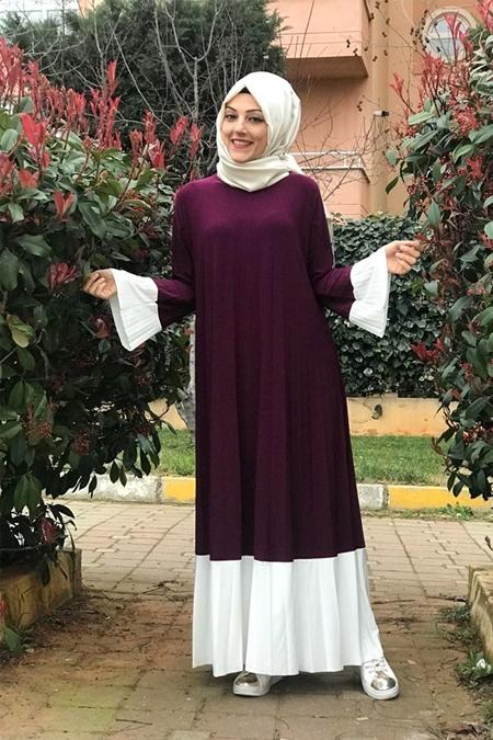 Baggy Official Pilise Detayli Elbise