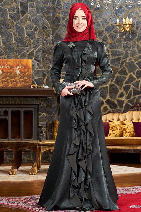 Mevra Haki Esmeralda Abiye Elbise