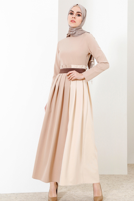 Refka Bej Pileli Elbise