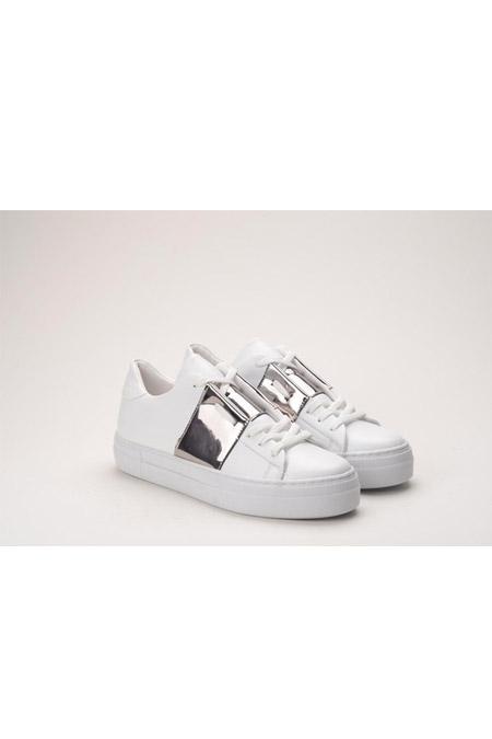Comert Ayakkabı Beyaz Platin Ayakkabı